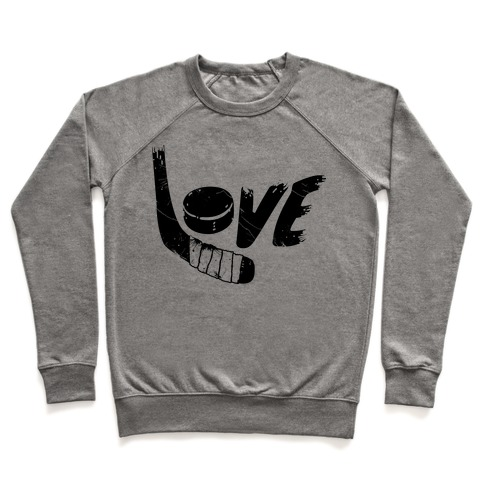 Love Hockey (Distressed) Pullover