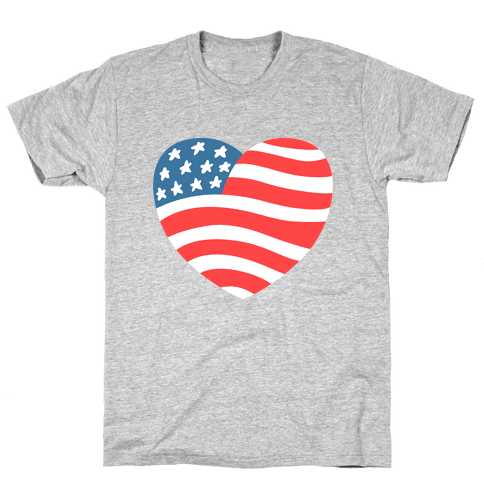 American Heart Mens T-Shirt