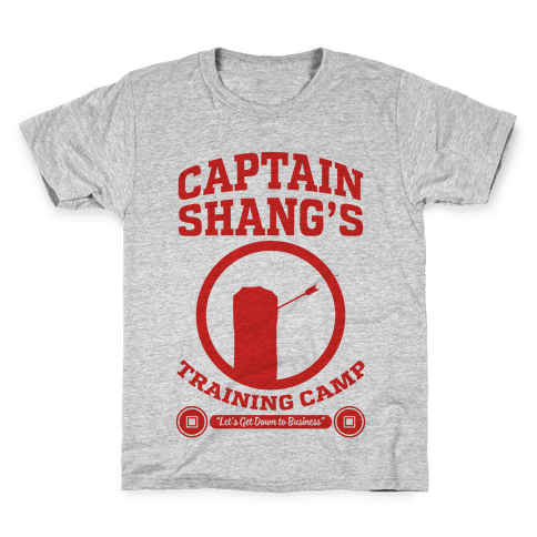 Captain Shang's Training Camp Kids T-Shirt