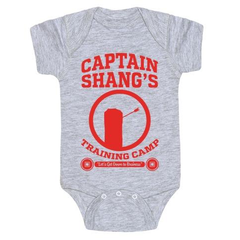 Captain Shang's Training Camp Baby Onesy