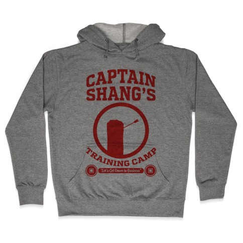 Captain Shang's Training Camp Hooded Sweatshirt