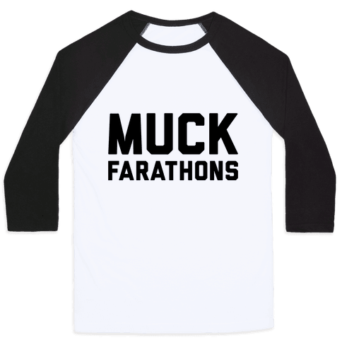 Muck Farathons Baseball Tee