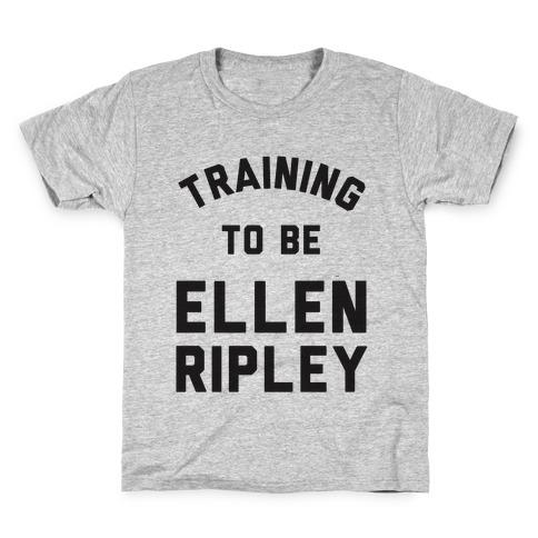 Training To Be Ellen Ripley Kids T-Shirt