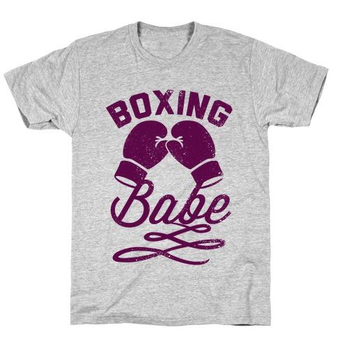Boxing Babe (Vintage) T-Shirt