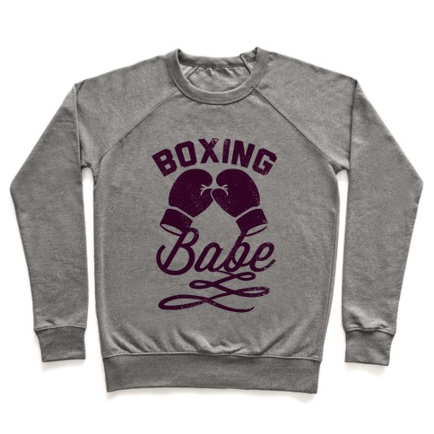 Boxing Babe (Vintage) Pullover