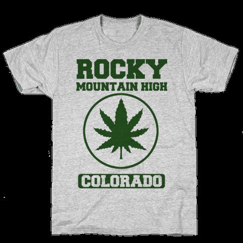 Rocky Mountain High Mens T-Shirt