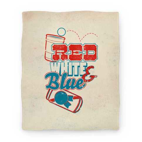 Red White and Blue (Blanket) Blanket