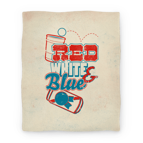Red White and Blue (Blanket)