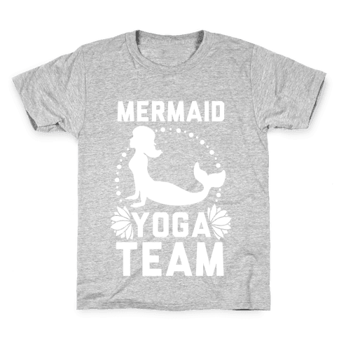 Mermaid Yoga Team Kids T-Shirt