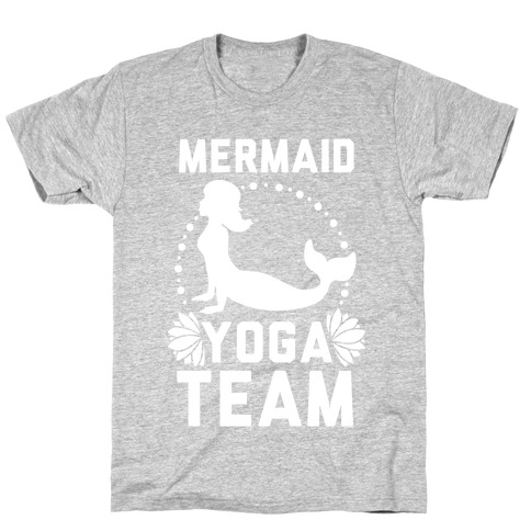 Mermaid Yoga Team T-Shirt