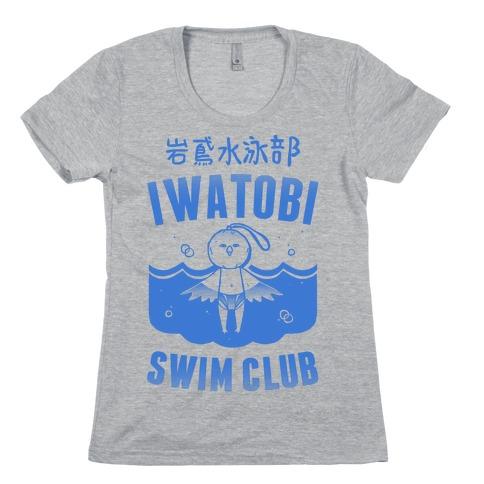 Iwatobi Swim Club Womens T-Shirt