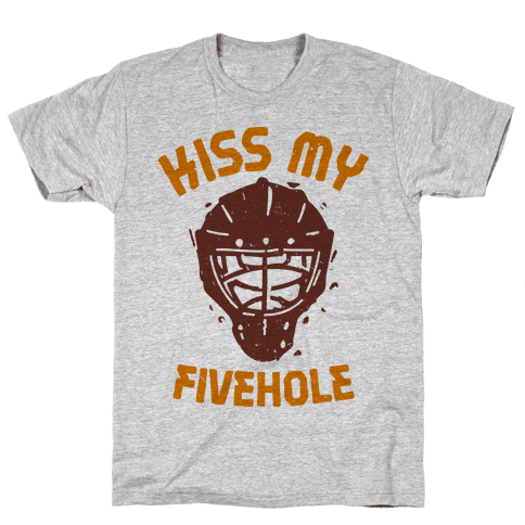 Kiss My Fivehole T Shirt Activate Apparel