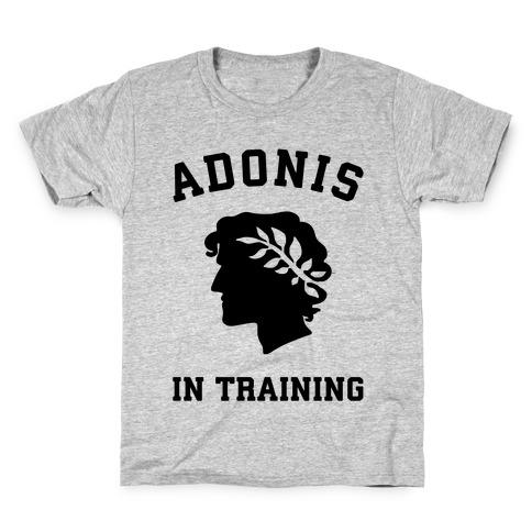 Adonis In Training Kids T-Shirt