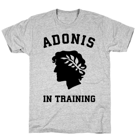Adonis In Training Mens T-Shirt
