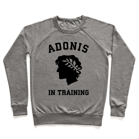 Adonis In Training Pullover