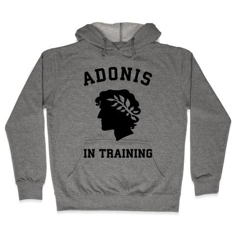 Adonis In Training Hooded Sweatshirt