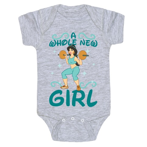 A Whole New Girl Baby Onesy