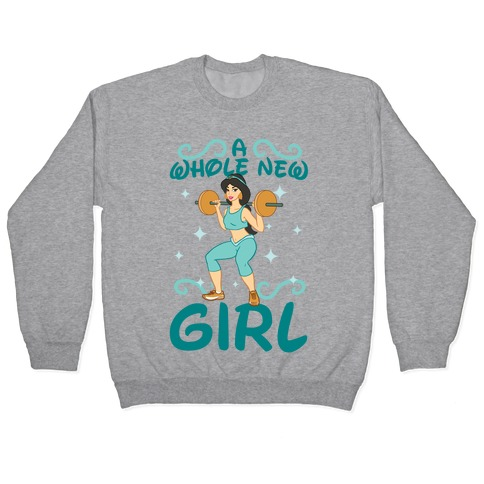 A Whole New Girl Pullover