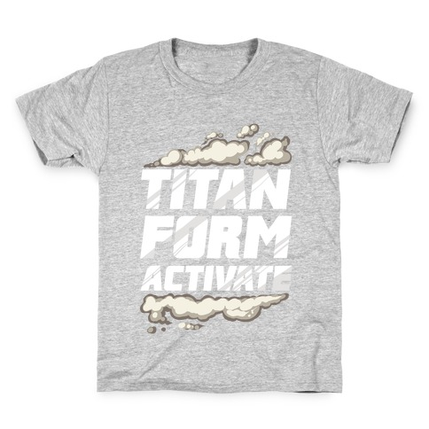 Titan Form Activate Kids T-Shirt