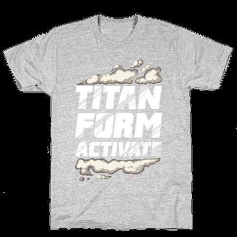 Titan Form Activate Mens T-Shirt