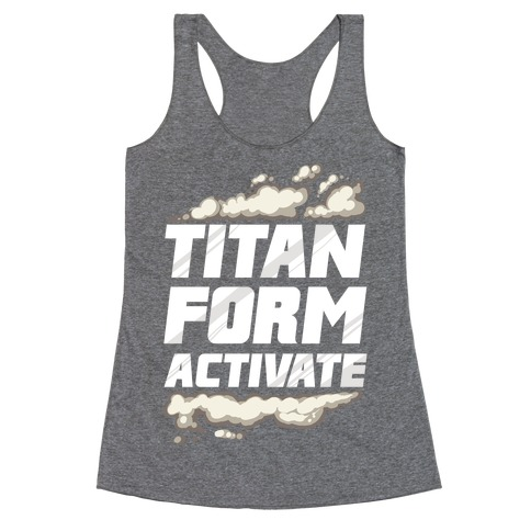 Titan Form Activate Racerback Tank Top