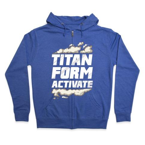 Titan Form Activate Zip Hoodie