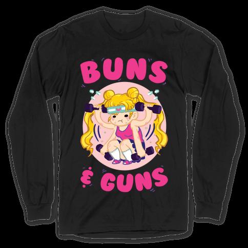 Buns & Guns Long Sleeve T-Shirt