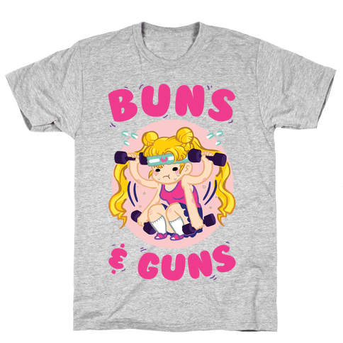 Buns & Guns Mens/Unisex T-Shirt