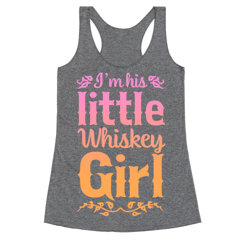 Little Whiskey Girl Racerback Tank Top