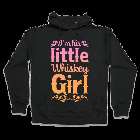 Little Whiskey Girl Hooded Sweatshirt