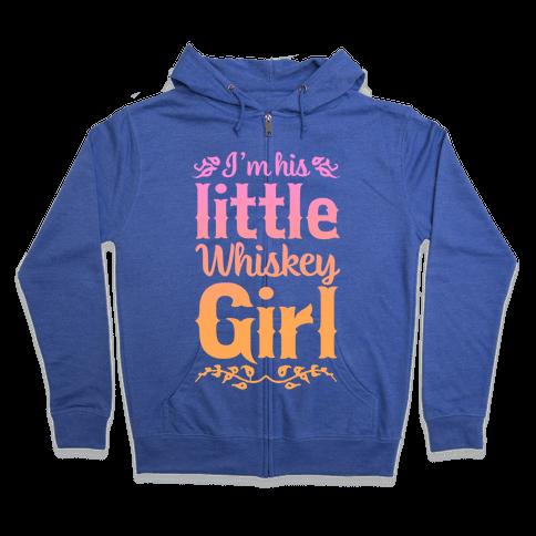 Little Whiskey Girl Zip Hoodie