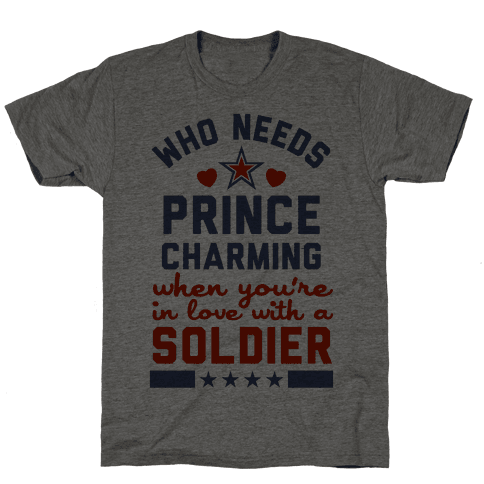 In Love with a Soldier (Military T-Shirt)