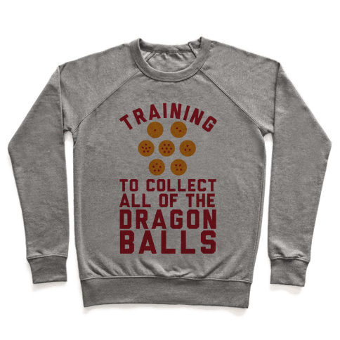 Training To Collect All Of The Dragon Balls Pullover