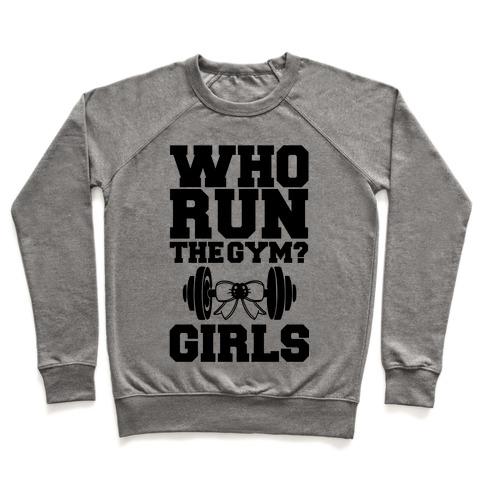 Girls Run the Gym Pullover