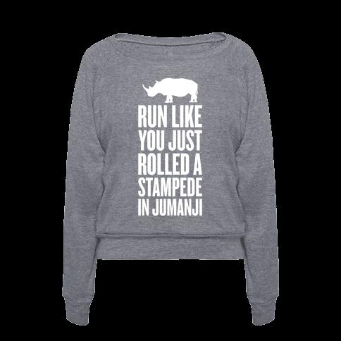 Run Like You Just Rolled A Stampede In Jumanji T Shirts