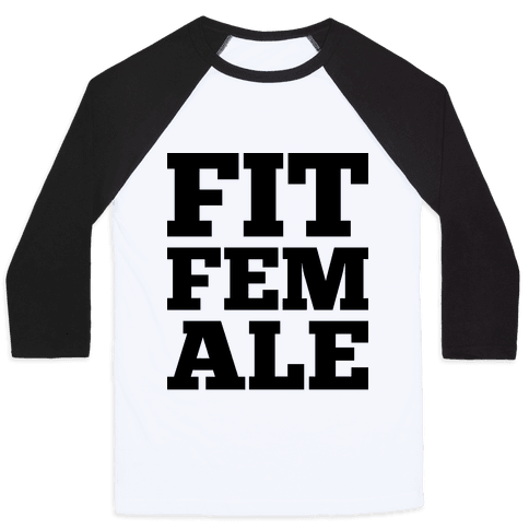 Fit Female Baseball Tee