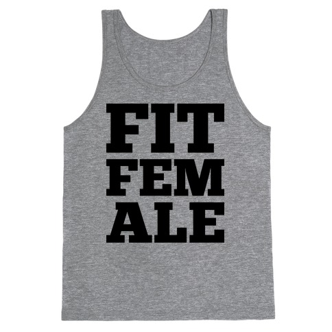 Fit Female Tank Top