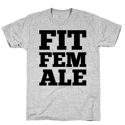 Fit Female Mens T-Shirt