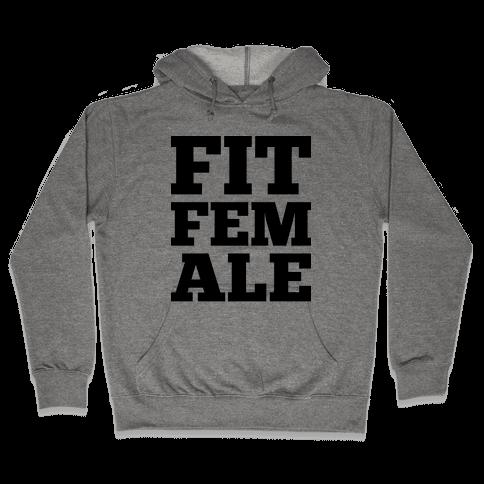 Fit Female Hooded Sweatshirt
