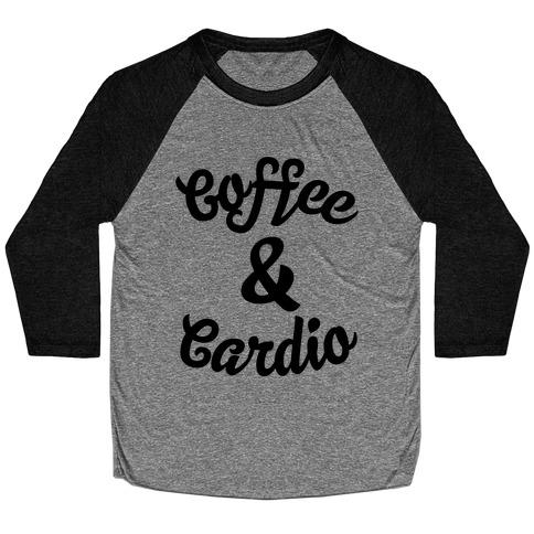 Coffee & Cardio Baseball Tee
