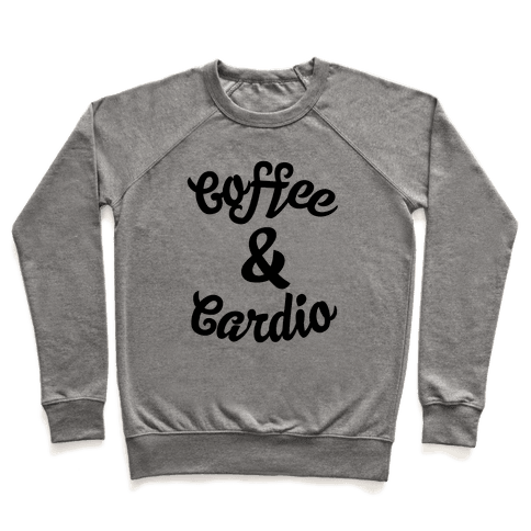 Coffee & Cardio Pullover