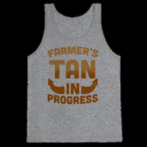 Farmer's Tan In Progress Tank Top
