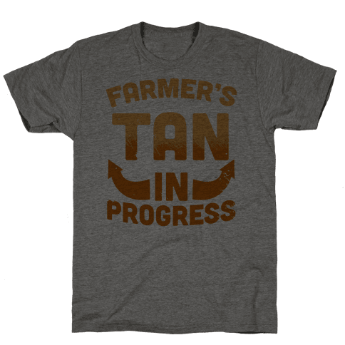 Farmer's Tan In Progress