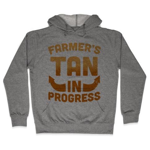 Farmer's Tan In Progress Hooded Sweatshirt