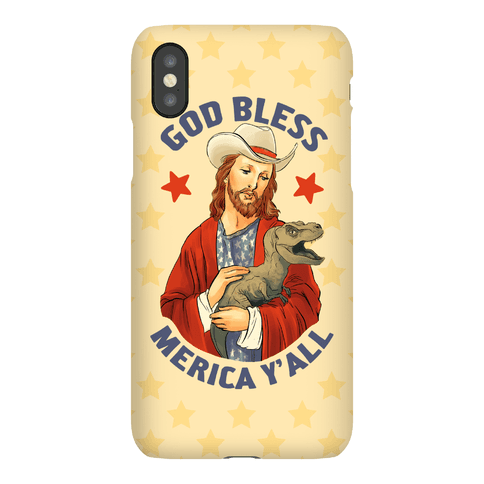 God Bless Merica Y'all Phone Case