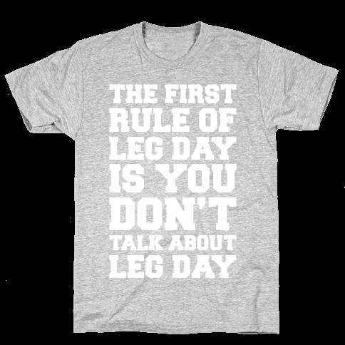 Leg Day Club Mens T-Shirt