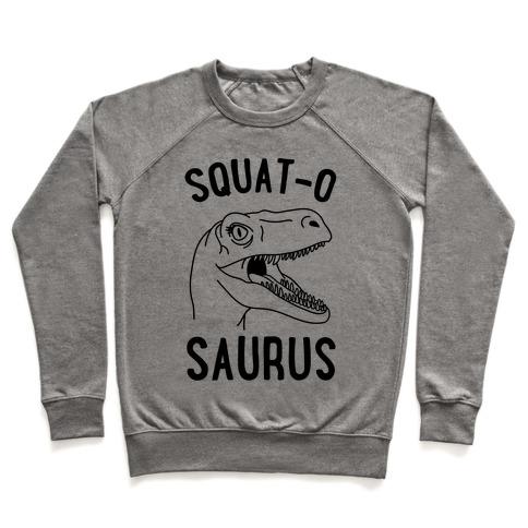 Squat-O-Saurus Pullover