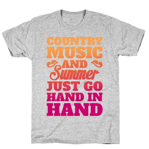 Country Music and Summer T-Shirt