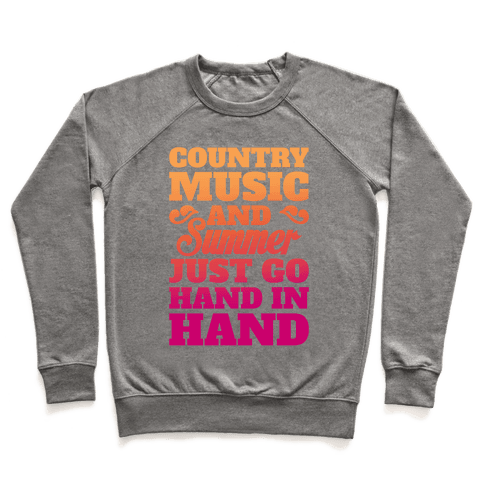 Country Music and Summer Pullover