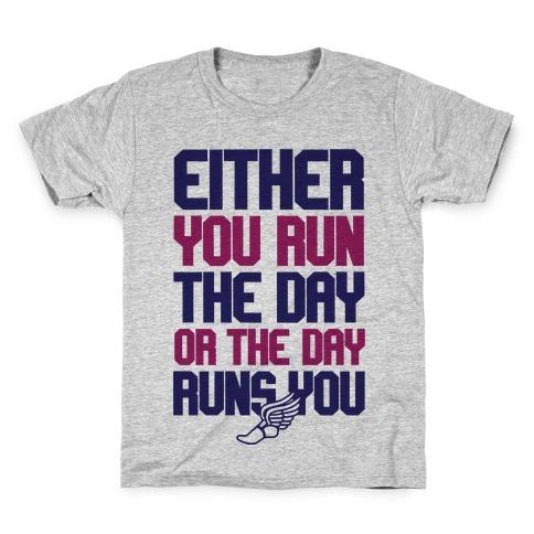 Run The Day Kids T-Shirt